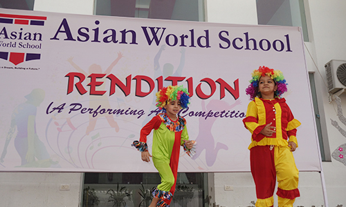 Inter-School Dance Competition at Asian World School, Jaipur