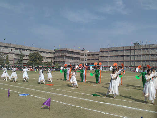 Celebrations of 67th Republic Day at Subodh public school